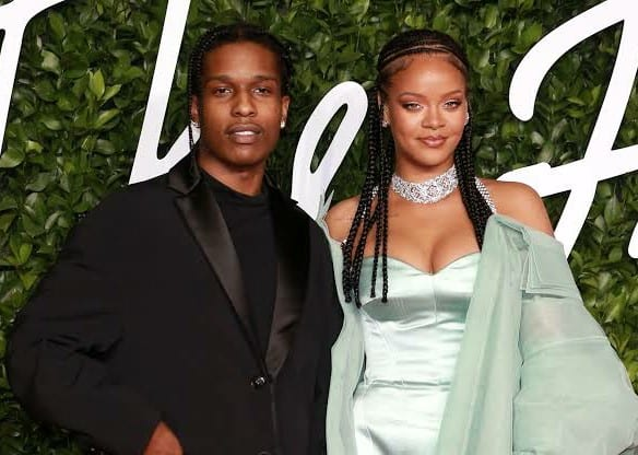 Rihanna And A$ap Rocky Spotted At Yams Day In New York