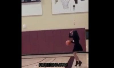Last Video Vanessa Posted Of Gianna Playing Basketball In Heels