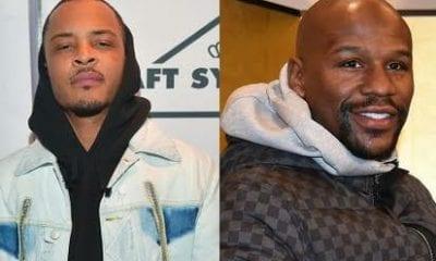 Floyd Mayweather Claims He Never Slept With T.I's Wife Tiny Harris