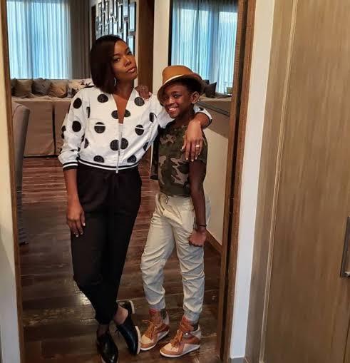 Gabrielle Union Introduces Zaya To The World