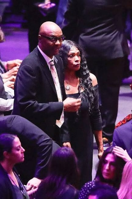 Kobe's Wife Vanessa Accused Of 'Disrespecting' His Parents At Memorial