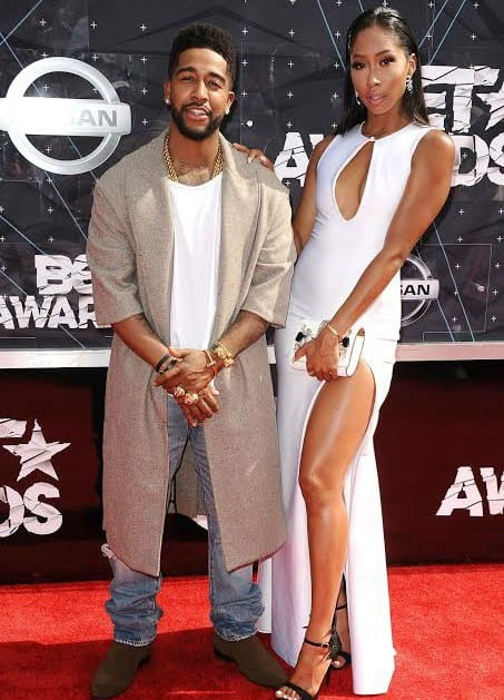 Omarion's Son Mega Tells Apryl Jones He's Not Allowed To Talk To Her Male Friends