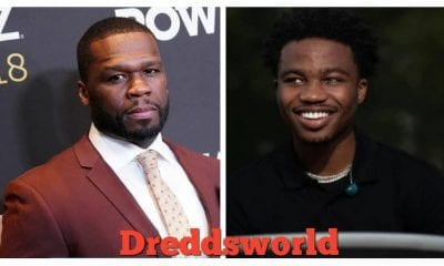 50 Cent Says He'll Lock The Door On Roddy Ricch Because He's Too Popular