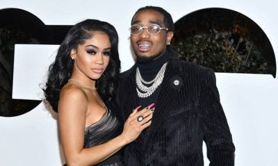 Quavo & Saweetie Tell The Story Of How He First Slid Into Her DMs For GQ