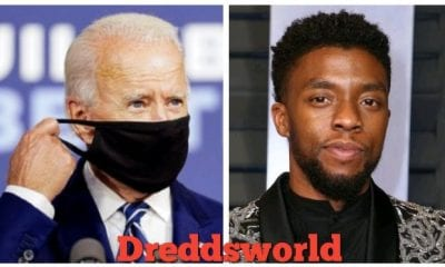 Joe Biden Pays Tribute To Chadwick Boseman