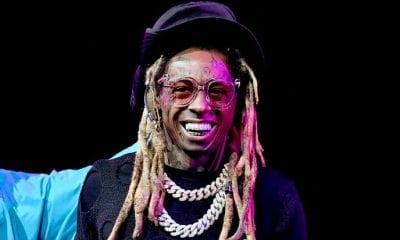 Lil Wayne Caught Blowing Huge Cloud Of Smoke In Lakers' Virtual Crowd