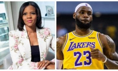 """Candace Owens Calls LeBron James A """"Pea-Brained"""" Following L.A. Sheriff Shooting"""