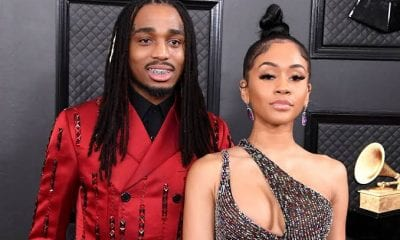 Quavo & Saweetie Share Romantic Pictures From Their Yacht Date Night