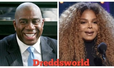 24 Year Old Magic Johnson Caught Kissing 16 Year Old Janet Jackson In Resurfaced Pics