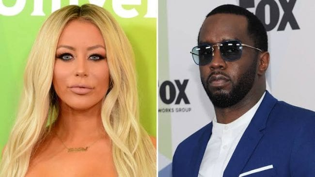 Aubrey O'Day Reveals Trump Would Daily Tell Her About His Friendship With Diddy