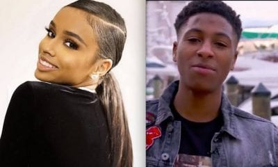 Yaya Mayweather Gets NBA Youngboy An Iced Out Bracelet As Birthday Gift