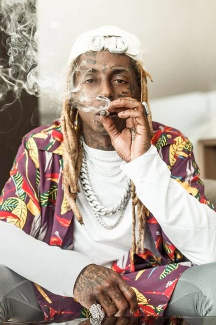 Busted! Lil Wayne Has His Dreadlocks Attached With Threads