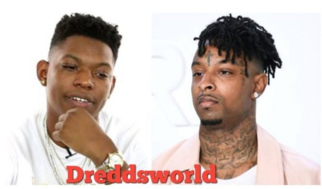 21 Savage Roasts Yung Bleu's Outfit On Instagram, Bleu Fires Back