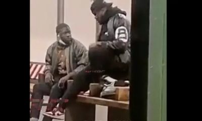 Guy Sits On His Friends Face For Rim Job At New York Subway Station
