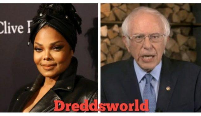 Janet Jackson Shares Raunchy Bernie Inauguration Meme