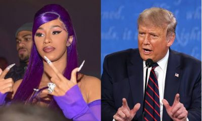 Cardi B Reacts To Donald Trump's Second Impeachment