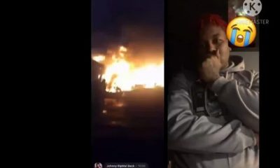 Goons Kill HoneyKomb Brazy's Grandparents, Set House On Fire & Show Him On Live