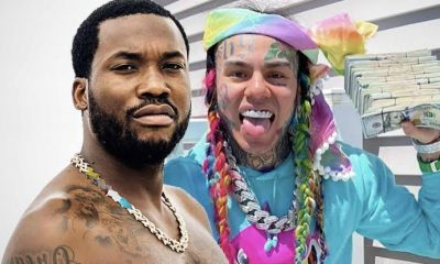 Meek Mill And 6ix9ine Had Verbal Altercation At Club's Parking Lot