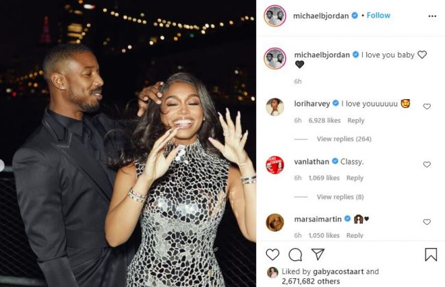 Michael B. Jordan Expresses Love For Lori Harvey Regardless Of Boosie Badazz Remarks