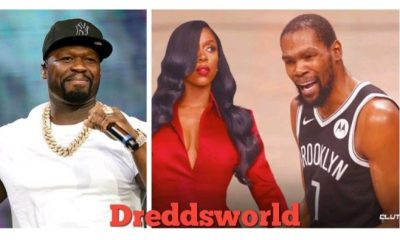 50 Cent Calls Out Kash Doll For Taking Kevin Durant's Nickname