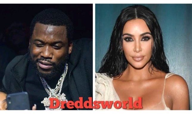 Meek Mill Is Reportedly Shooting His Shot At Kanye's Ex Wife Kim Kardashian