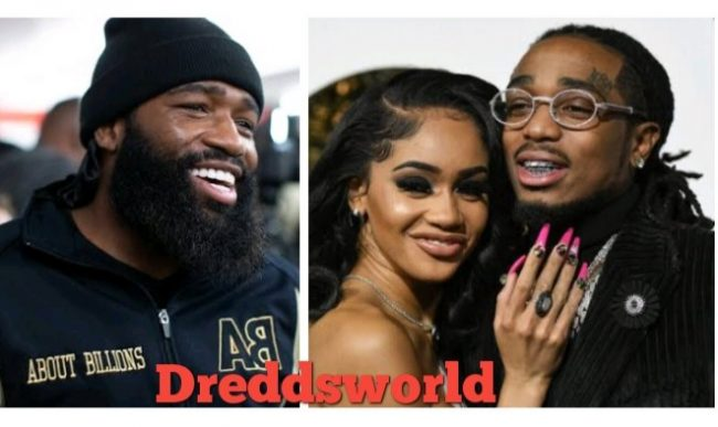 Adrien Broner Defends Quavo Against Elevator Fight Video Backlash