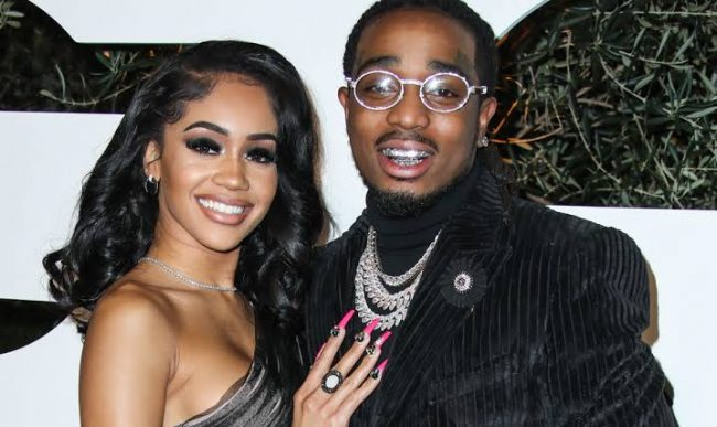 Quavo And Saweetie's Physical Altercation Video Births Memes On Twitter