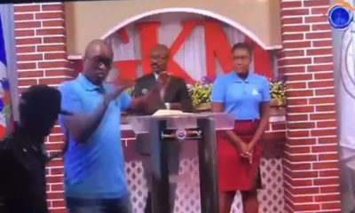 GKM Pastor Welmyr Jean-Pierre Kidnapped On Live While Delivering His Easter Sermon