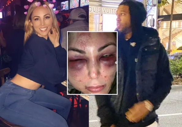 Darius Morris On Video 'Beating' Blonde GF After She 'Cheated