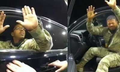 Video Of Black Army Officer Getting Harassed By Police Goes Viral