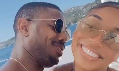 "Michael B. Jordan Shows Off His Love For Lori Harvey Because He's Is ""Extremely Happy"" With Her"