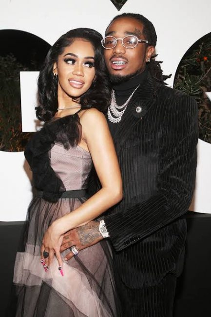 Quavo Breaks His Silence On Elevator Fight Video With Saweetie