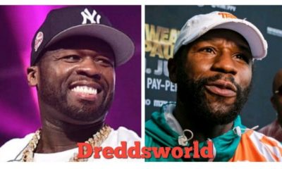 "50 Cent Trolls Floyd Mayweather Following Jake Paul's ""Gotcha Hat"" Moment"