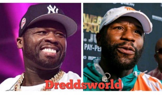 "50 Cent Trolls Floyd Mayweather Following Jake Paul's ""Gotcha Hat"" Moment"