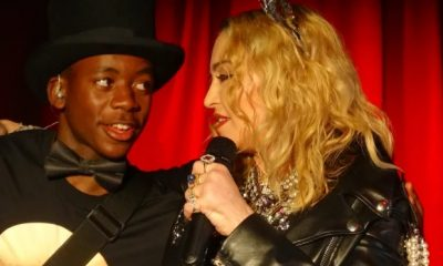 Madonna's 15 Year Old Adopted Black Son David Spark Gay/Transgender Rumor With Dress Video