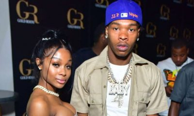 Lil Baby And Jayda Cheaves Reconcile, Rock Matching Louis Vuitton Fits To Hawks & Knicks Game