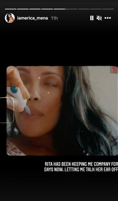 Erica Mena Doing Everything Needed To Keep Her Baby From Coming Early