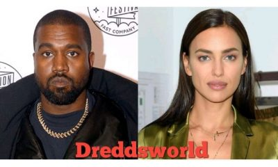 Pictures Of Kanye West And New Girlfriend Irina Shayk Walking Around A Hotel In France Leak Online