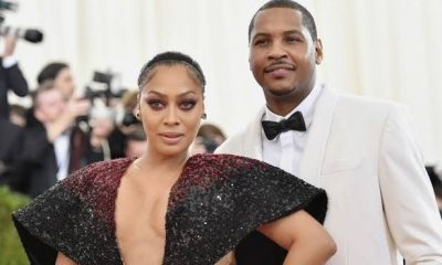 Lala Anthony Files For Divorce Mid Report That Carmelo's Side Chick Had Given Birth To Twins