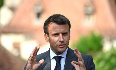 Emmanuel Macron Slapped In The Face By Angry Man During Visit To Southeast France