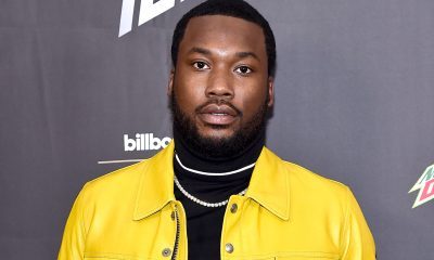 Meek Mill posts cringe boxing training session video after DJ Akademiks challenged him - gets clowned for having skinny legs
