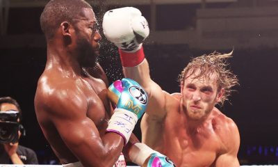Floyd Mayweather Knocked Out Logan Paul, But Held Him Up To Carry It Through 8 Rounds