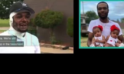 Father Saves His Twin Baby Girls From House Fire, Suffers Severe Burns