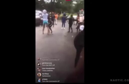 Cutie Got Shot Filming A Girl Fight