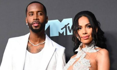 Safaree Says Erica Mena Bleached $30k Worth Of His Shoes & Poured Paint To His Bikes Exhaust Pipes