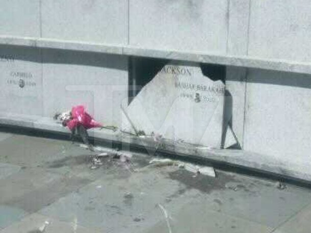Pop Smoke's Gravesite Badly Vandalized - Did Suspects Pull Casket Out?