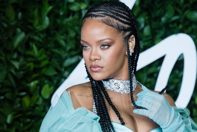 Pics From Rihanna's Baby Bump: Maternity Photoshoot Leaks Online