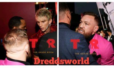 Conor McGregor & Machine Gun Kelly Exchange Words In Heated Altercation At VMAs