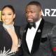 50 Cent's Girlfriend Jamira Haines AKA Cuban Link Causes Stir On Red Carpet